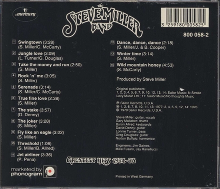 Greatest hits 1974-1978
