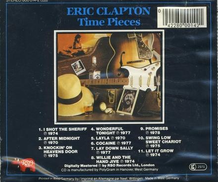 Time pieces : the best of Eric Clapton