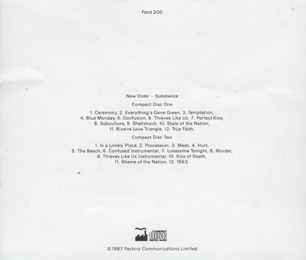 Substance 1987