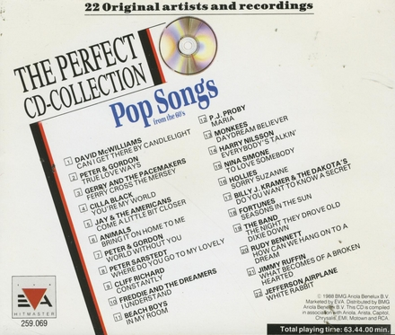 Exclusive pop songs from the 60's