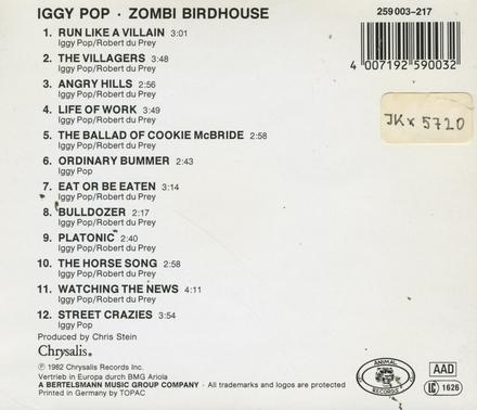 Zombi birdhouse
