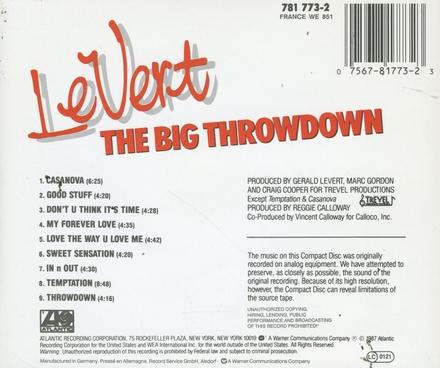 The big throwdown