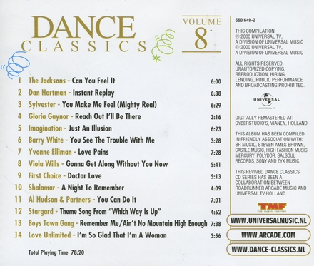 Dance classics. vol.8