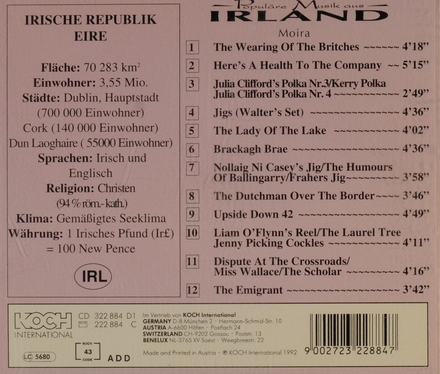Populäre musik aus Irland