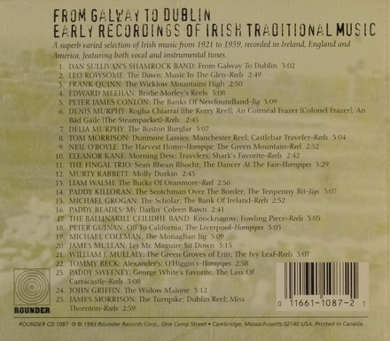 Fr.galway to Dublin - early rec...