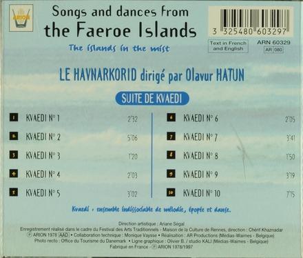 Chant et danses des Iles Féroé
