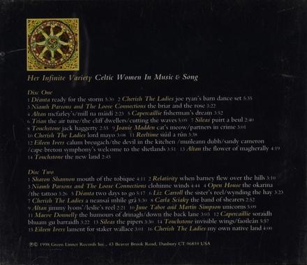 Her infinite variety : Celtic women in music & song