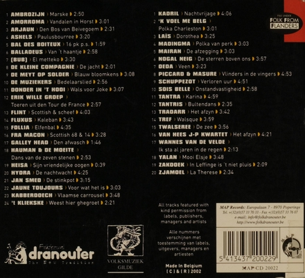 Flemish folk music 2002