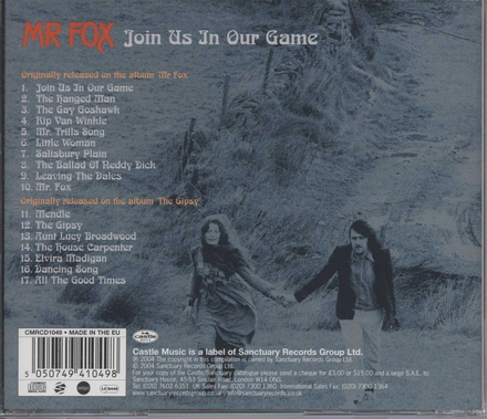 Join us in our game : the Transatlantic recordings