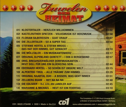 Juwelen der Heimat : Auf geht's Musikanten