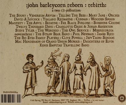 John Barleycorn reborn : rebirth