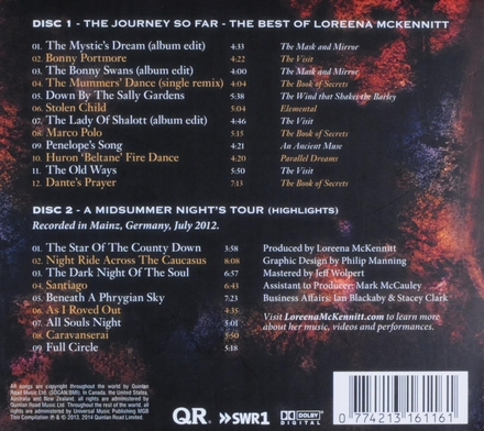 The journey so far : The best of Loreena McKennitt