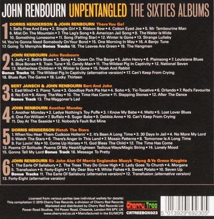 Unpentangled : The sixties albums