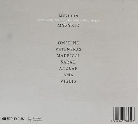 Monstruos y duendes. Vol. I, Myfrio
