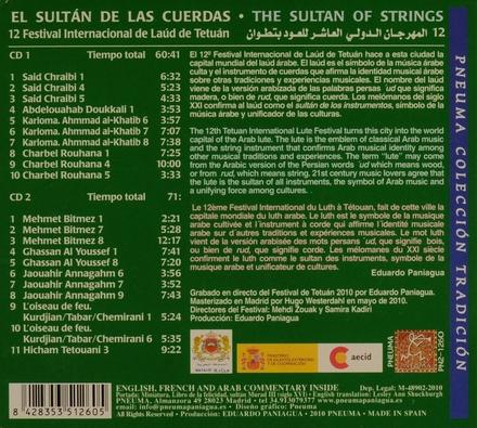 El sultán de las cuerdas : 12 festival internacional de laúd árabe de Tetuán