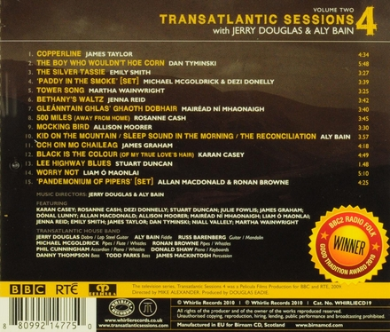 Transatlantic sessions 4. Vol. 2