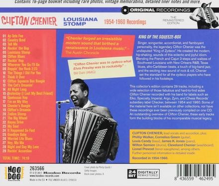 Louisiana stomp 1954-1960 recordings