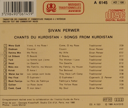 Chants du kurdistan