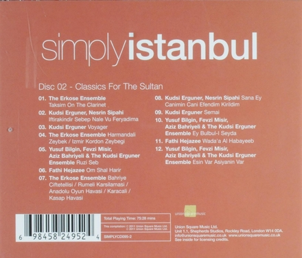 Simply Istanbul : Classics for the sultan. vol.2