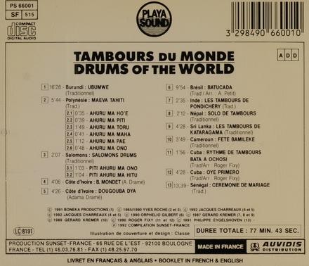 Tambours du monde