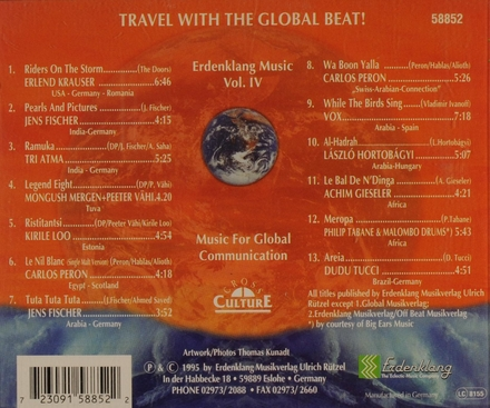Travel with the global beat!