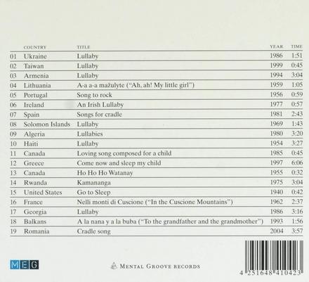 Soothing songs for babies : Berceuses du monde
