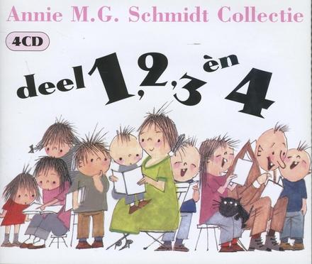 Collectie. vol.1-4 : Pippeloentje, Dames & heren, Beroepen, Dieren