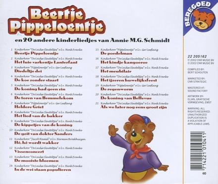 Beertje Pippeloentje en 20 andere kinderliedjes