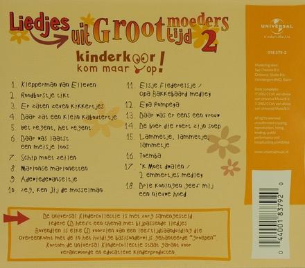 Liedjes uit grootmoederstijd. vol.2