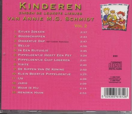 Kinderen zingen de leukste liedjes. vol.2