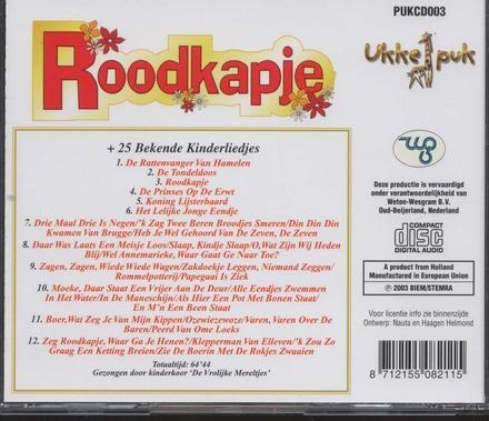 Roodkapje + 25 bekende kinderliedjes