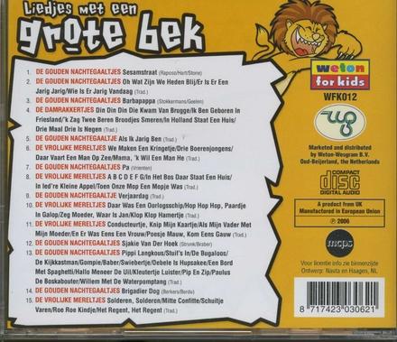 Liedjes met een grote bek : leeuw