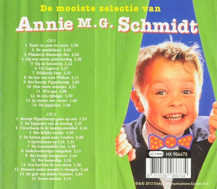 De mooiste selectie van Annie M.G. Schmidt : De bekendste liedjes