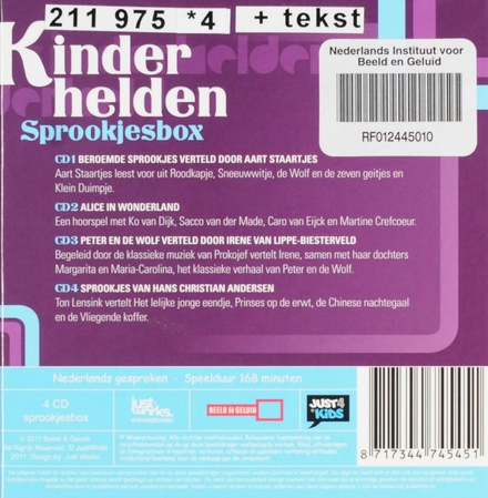 Kinderhelden : Sprookjesbox