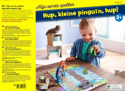 Hup, kleine pinguïn, hup! : mijn eerste spellen