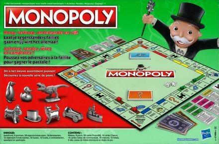 Monopoly : het beroemde vastgoedspel voor snelle onderhandelaars