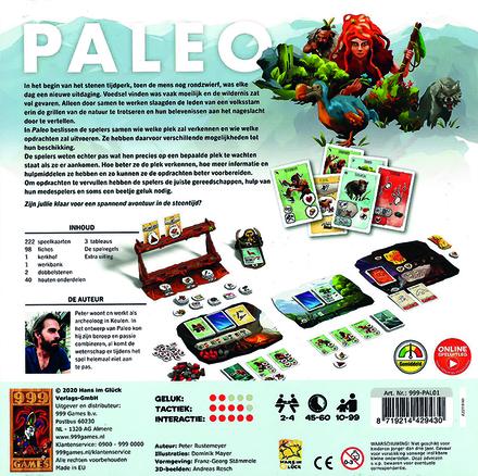 Paleo : een coöperatief avonturenspel