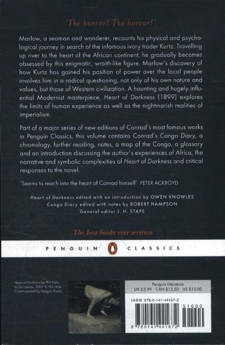 Heart of darkness ; The Congo diary