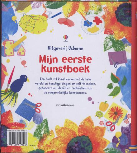 Mijn eerste kunstboek : ga zelf ook aan de slag!