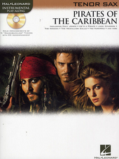 Pirates of the Caribbean : alto sax
