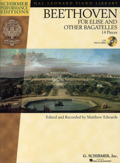 Für Elise and other bagatelles : 14 pieces