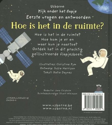 Hoe is het in de ruimte?