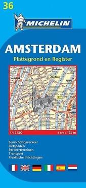 Amsterdam : plattegrond en register