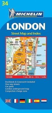 London : street map and index