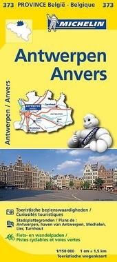 Antwerpen : toeristische wegenkaart