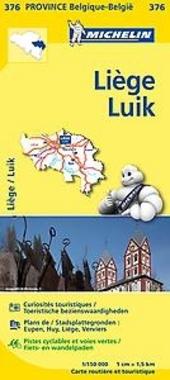 Liège : carte routière et touristique