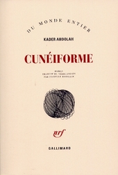Cunéiforme : notes d'Aga Akbar : roman