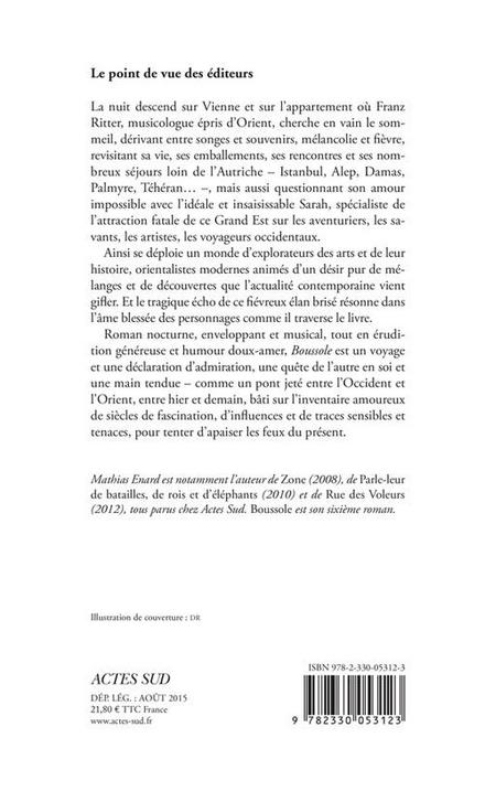 Boussole : roman