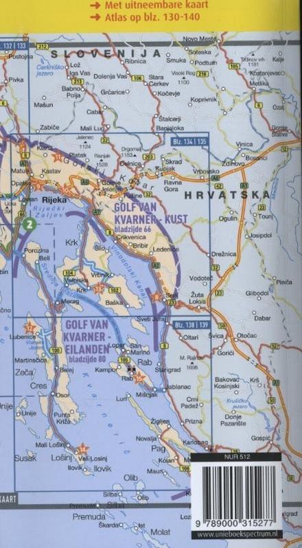 Kroatische kust : Istrië, Kvarner