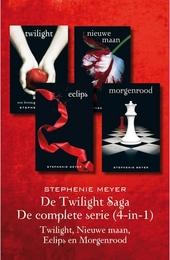 De Twilight saga : de complete serie (4-in-1) : Twilight, Nieuwe maan, Eclips en Morgenrood